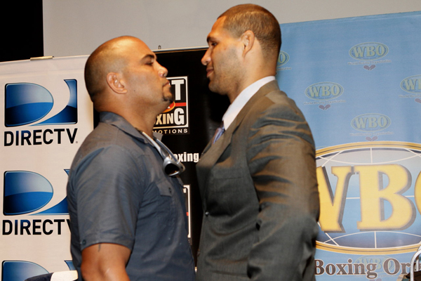 19 sept 2012 Press Conference The War Vazquez Jr vs Oquendo- Gonzalez vs Bisbal